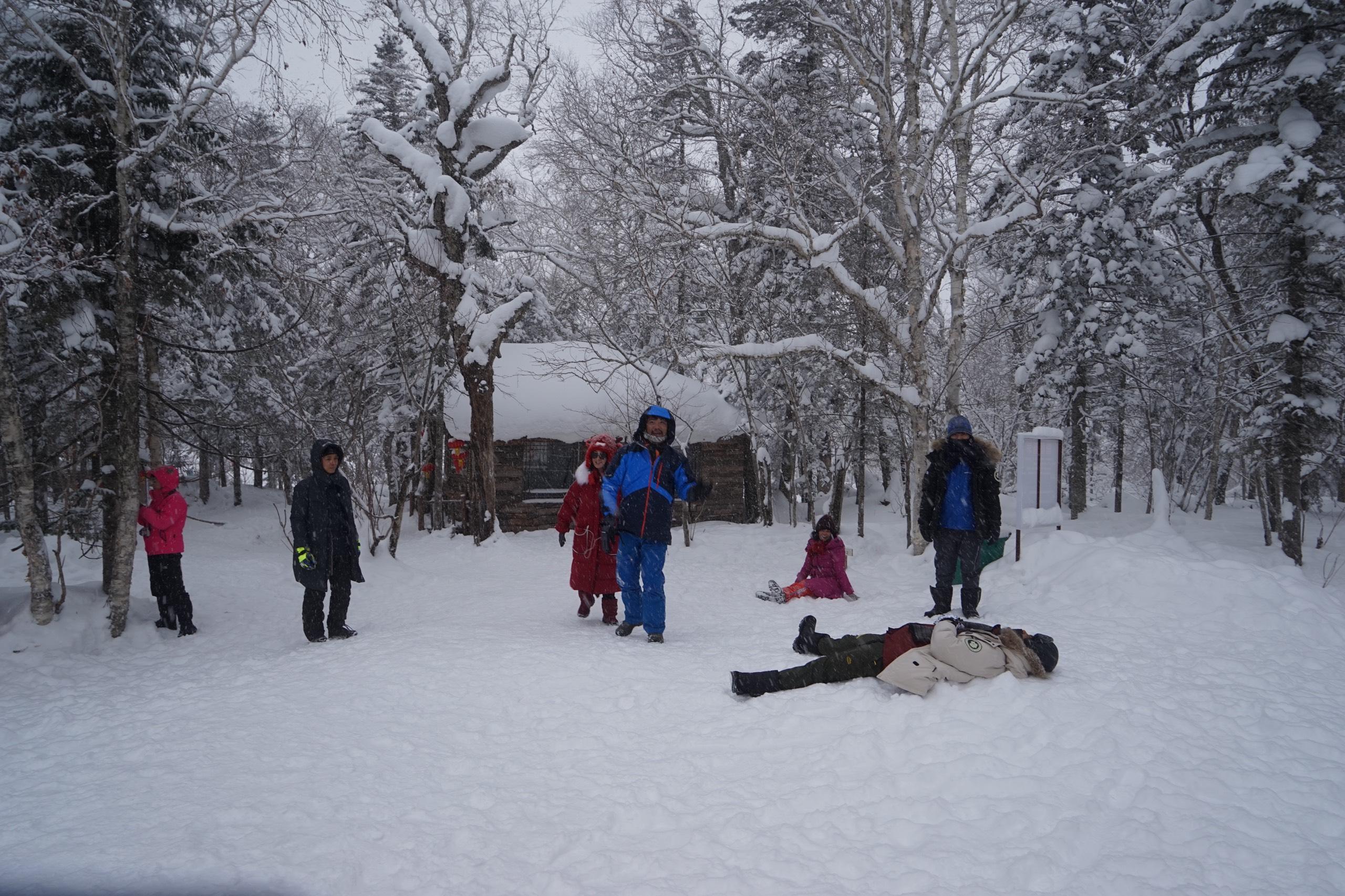 Đón giáng sinh nơi miền tuyết trắng