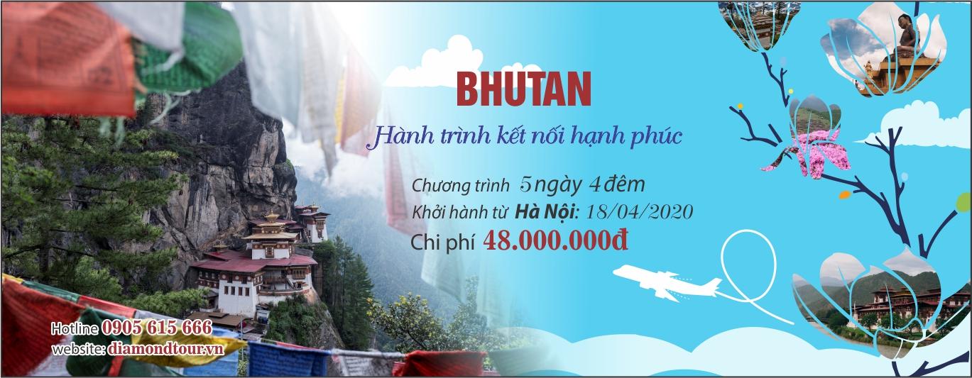 BHUTAN – HÀNH TRÌNH KẾT NỐI HẠNH PHÚC