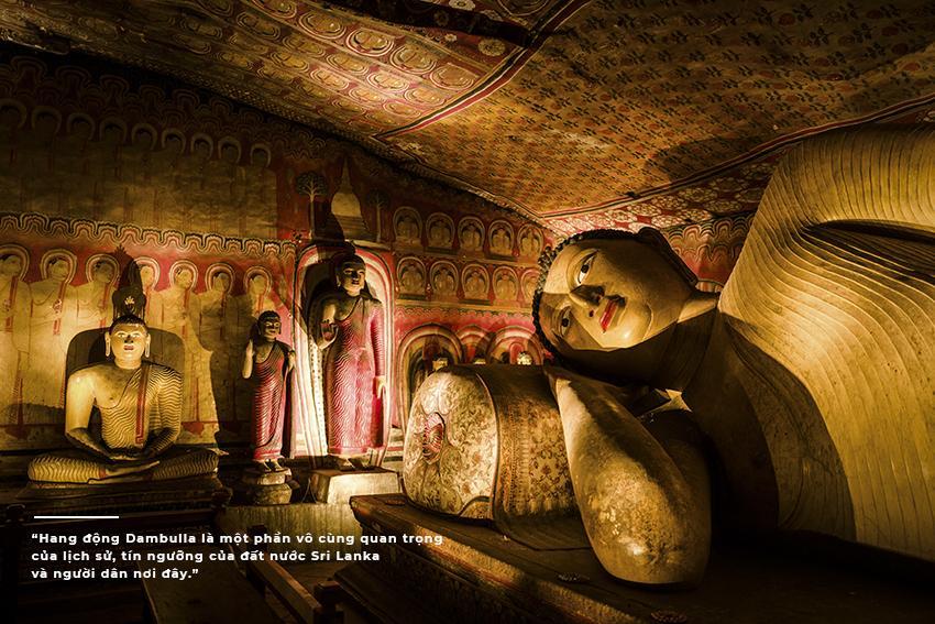 góc chụp khác về bức tượng Đức Phật nhập Niết Bàn